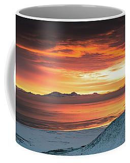 Antelope Island Sunset Coffee Mug