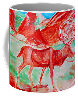 Antelope Save Coffee Mug