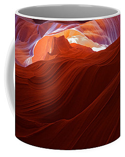 Coffee Mug featuring the photograph Antelope View by Jonathan Davison
