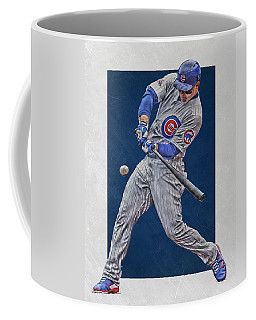 Anthony Rizzo Chicago Cubs Art 1 Coffee Mug