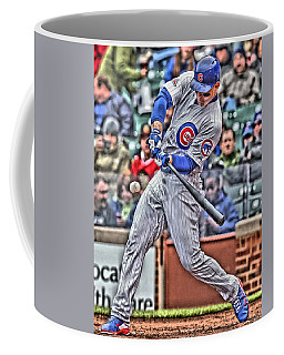 Anthony Rizzo Chicago Cubs Coffee Mug