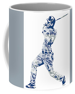 Anthony Rizzo Chicago Cubs Pixel Art 20 Coffee Mug