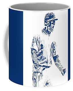 Anthony Rizzo Chicago Cubs Pixel Art 21 Coffee Mug