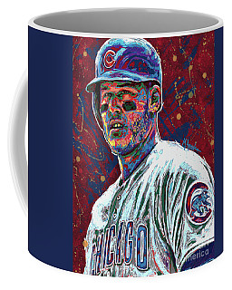 Anthony Rizzo Coffee Mug by Maria Arango