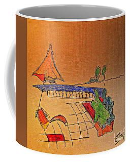 Antibes Morning Coffee Mug