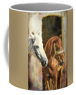 Coffee Mug featuring the digital art Anticipation by Colleen Taylor