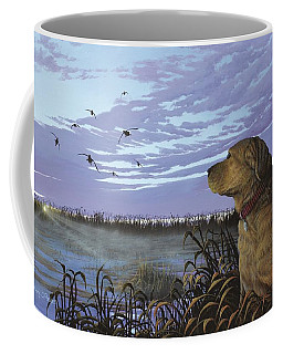 On Watch - Yellow Lab Coffee Mug