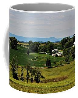Antietam Battlefield And Mumma Farm Coffee Mug