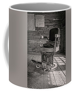 Antique Barber Chair Coffee Mug