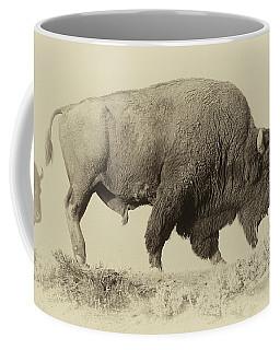 Antique Bison Coffee Mug