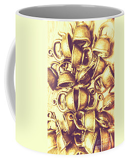 Antique Cafe Composition Coffee Mug