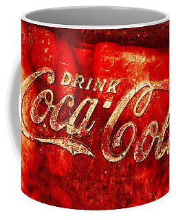Antique Coca-cola Cooler Coffee Mug