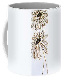 Antique Daisies Coffee Mug
