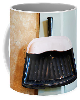 Coffee Mug featuring the photograph Antique Dust Pan 2 by Marilyn Hunt
