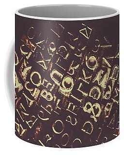Antique Enigma Code Coffee Mug