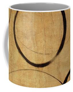Coffee Mug featuring the painting Antique Ensos by Julie Niemela