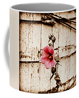 Antique Flower Coffee Mug