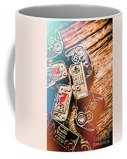 Antique Gaming Consoles Coffee Mug
