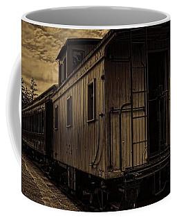 Antique Iron Range Caboose Coffee Mug