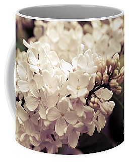 Antique Lilacs Coffee Mug by Elaine Manley