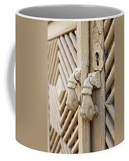 Antique Mediterranean Door-knocker Coffee Mug