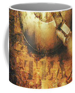 Antique Old Tea Metal Sign. Rusted Drinks Artwork Coffee Mug