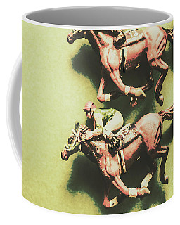Antique Race Coffee Mug