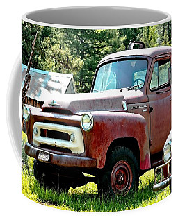 Antique Red Truck Coffee Mug