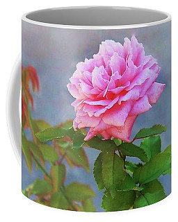 Antique Rose Coffee Mug by Ellen O'Reilly