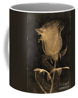 Antique Rose Of Glass Coffee Mug