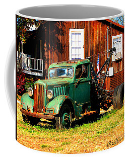 Antique Tow Truck Coffee Mug