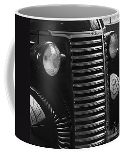 Antique Truck Black And White Coffee Mug