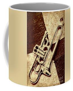 Antique Trumpet Club Coffee Mug