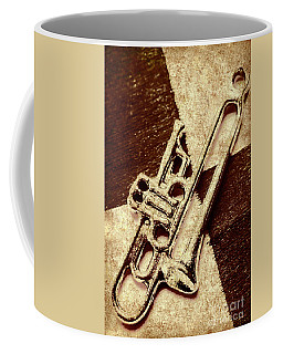 Antique Trumpet Club Coffee Mug