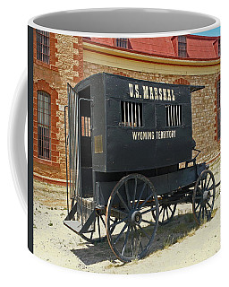 Antique U.s Marshalls Wagon Coffee Mug