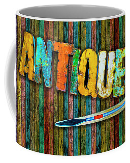 Coffee Mug featuring the photograph Antiques by Paul Wear