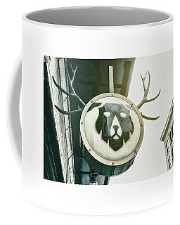 Antlers Sign Coffee Mug