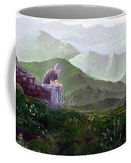 Antonio Atop La Rocca De Monte Calvo Coffee Mug