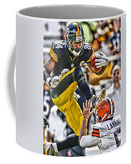 Antonio Brown Steelers Art 5 Coffee Mug