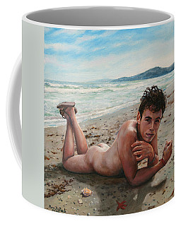 Antonio En La Playa Coffee Mug