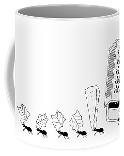 Ants With Cheese Grater Coffee Mug