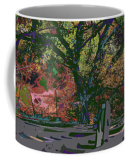 Colorfication - Treescape My Backyard  Coffee Mug