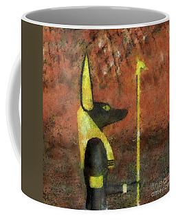 Anubis God Of Egypt By Raphael Terra Coffee Mug