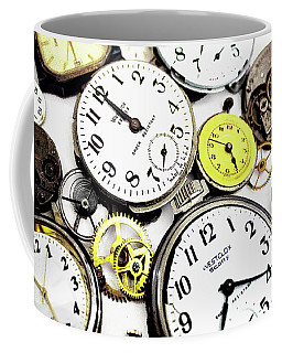 Anybody Really Know What Time It Is Coffee Mug