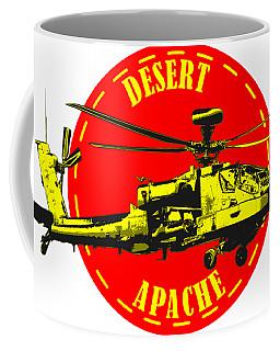 Apache On Desert Coffee Mug