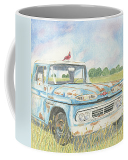 Apache Out To Pasture Coffee Mug
