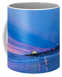 Apache Pier At Sunrise Coffee Mug