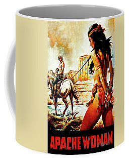 Apache Woman, Western Movie, Poster Coffee Mug