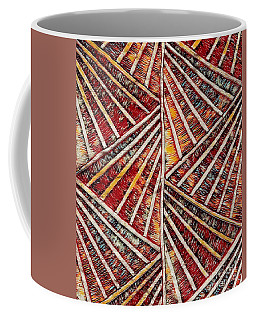 Coffee Mug featuring the mixed media Apartment 12b by Lita Kelley