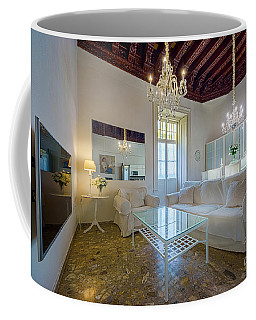 Coffee Mug featuring the photograph Apartment In The Heart Of Cadiz 17th Century by Pablo Avanzini